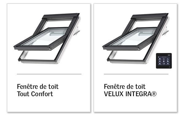 velux confort ou tout confort interesting fen tre de toit. Black Bedroom Furniture Sets. Home Design Ideas